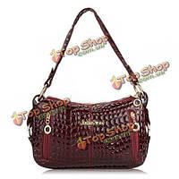 Женщины картины крокодила плеча сумки дамы элегантные сумки Crossbody сумки