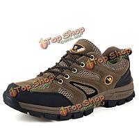 Мы размер 6.5-10 мужчины спорта на открытом воздухе альпинизмом бег обувь случайные удобные спортивные туфли