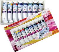 Набор акриловых красок Ладога 8х18мл, туба, картон, ЗХК, фото 1