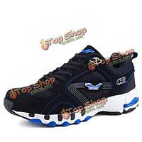 Мы размер 6.5-10.5 мужчины на открытом воздухе кроссовки сетки Узелок квартиры вскользь комфортно спортивная обувь