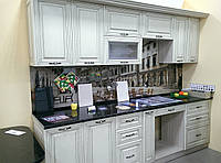 Кухня «Хорватия» патина коричневая