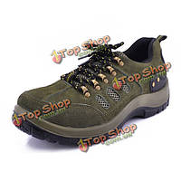NEW Men Breathable Casual Mountaineering Acid Resistance Rubber Protective Sport Military Shoes