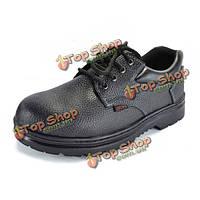 Новое микроволокно устойчивости к кислоте сопротивления проникновения ударопрочности мужчин pu защитная военная обувь