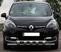 Кенгурятник на Renault Scenic (c 2009--) Рено Сценик PRS