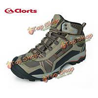 Clorts мужские водонепроницаемые походные ботинки кожа дышащей обуви