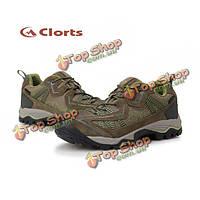 Clorts мужчины водонепроницаемый пешие прогулки открытый обувь спорт PU
