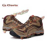 Clorts мужчин уличной обуви водонепроницаемой дышащей походные ботинки