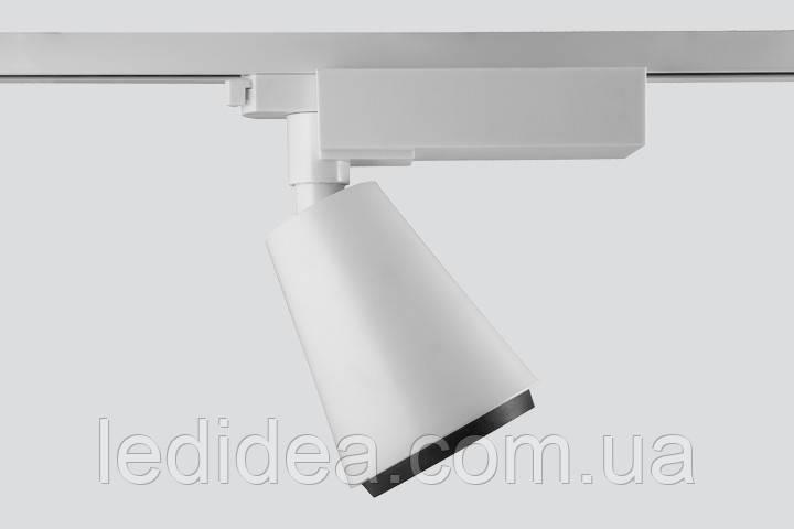 Трековый светильник TRW 110P/35W (белый, черный), фото 1