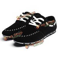 Замшевые кроссовки мужские