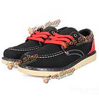 Мужская мода повседневный кроссовок скейтбординга низкая обувь