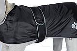 Попона Trixie Tcoat Orleans для собак, светоотражающая, 80 см, фото 3