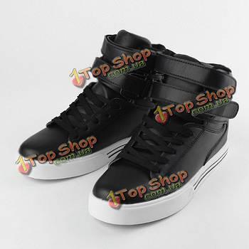 Мужские высокие кроссовки ботильоны повседневная обувь скейтборд