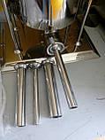 Шприц профессиональный колбасный вертикальный VEKTOR-GRT15L 15 литров, фото 3