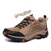 Большой размер унисекс на открытом воздухе случайные спортивной обуви работает туризм альпинизм спортивная обувь