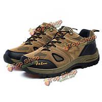 Нас размер 6.5-11 мужчины спортивную обувь на открытом воздухе работает горная обувь вскользь удобную обувь