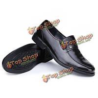 Мужские деловые формальная обувь искусственная кожа случайные скольжения на мокасины
