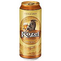 Пиво Kozel світле 10% ж/б 0,5л