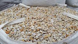 Мраморная крошка серо-желтая, 40 кг