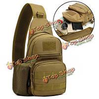 Мужской тактический мешок плеча рюкзак мешок слинга груди штурмовую пакет мешок посыльного