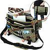 Ekphero мужчины холст многофункциональный большой мощности открытый 17.3-дюйма ноутбук Кроссбоди сумка сумки