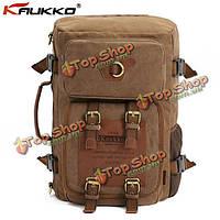 Мужской актический холстинковый рюкзак в армейском стиле, фото 1
