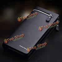 Curewe kerien брендовые мужские искусственная кожа длинный кошелек кошелек сумочка на Lightning бизнес