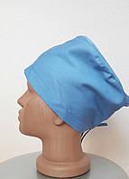 Медицинская шапка на завязках