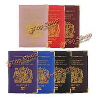 ПУ паспорт владельца билета ID-карта защитная крышка дорожный футляр