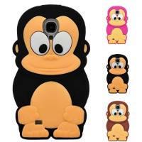 Силиконовый чехол Monkey для Samsung i9500 Galaxy S4