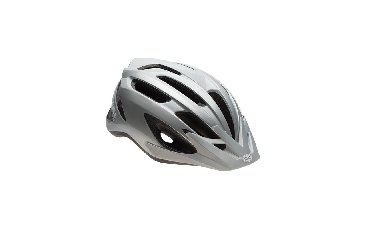 Велошлем Bell Crest серый/серебряный Sting, Uni (54-61) (GT)