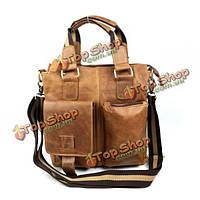 Деловая сумка-портфель мужская кожаная