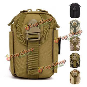 """Поясная сумка мужская армейская для телефона 4.5"""""""