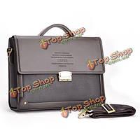 Мужчины бизнес пу кодовый замок плечо сумка сумки Crossbody портфель