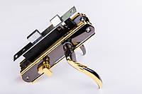 Замок врезной Фурор Симфония черное золото ML23А (большой)