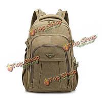 Aerlis мужчины ретро холст школа Mochila досуг Спорт на открытом воздухе военный потенциал рюкзак