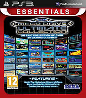 Игра  Sega Megadrive Ultimate Collection (PS3, Essentials) Сборник из 40 игр !!!