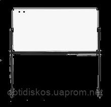 Оборотная доска для маркера ABC Office 100 x 200 см, алюминиевая рама