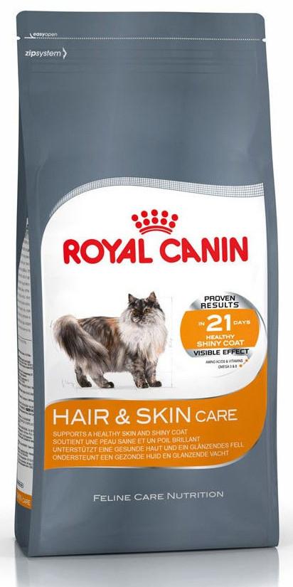 Корм для кошек с проблемной кожей и шерстью Royal Canin Hair & Skin Care
