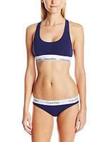 Спортивный комплект Calvin Klein стринги, синий, фото 1