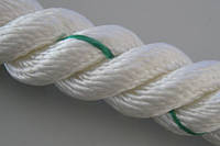 Капрон (нейлон, полиамид) крученный 2/0 (метрический 3) катушка 200м