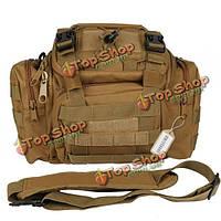 Тактическая сумка 3 способа утилита сумка Молл сверхмощный плечевой ремень походы кемпинг рыбалки