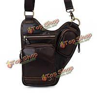 Натуральной кожи воловьей кожи сумки посыльного для мужчин плеча мешок Crossbody