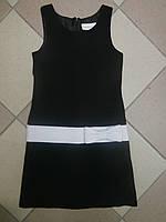 Платье подростковое черное с белым бантом Sweat Heart Rose