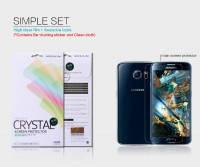 Защитная пленка Nillkin Crystal для Samsung Galaxy S6 Duos (G920F/G920D)