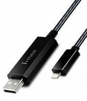 Дата кабель (светящийся бегущий) Melkco i-mee Lightning для Apple iPhone 5/5s