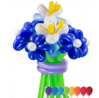 """Букет """"Северное сияние"""" 9 цветков"""