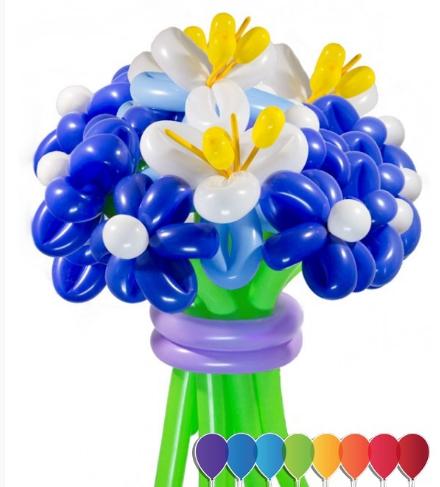 """Букет """"Северное сияние"""" 13 цветков"""