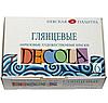 Набір акрилових фарб, Decola 6х20мл, Глянцеві, ЗХК
