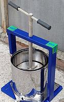 Ручной пресс для отжима сока из нержавейки Виллен (20 литров) DI
