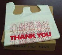 Пакет «майка» «Thank You», размер 300х540